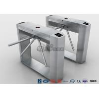 Cheap Semi Automatic Access Control Tripod Turnstile Gate Stainless Steel For Public Areas for sale