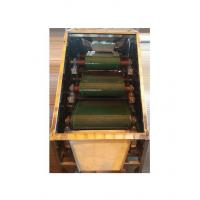 Best Dry Type Roller Permanent Magnetic Separator With Adjustable Splitter And Vibratory Feeder wholesale