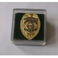 Cheap 3D embroidered lapel badge maker for sale