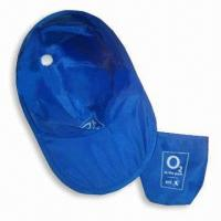 Best Sun Visor/Promotional Hat with Thin Nylon Fabric and Galvanized Steel Wire Rim wholesale