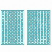 Best Self-adhesive Templates, Reusable Self-adhesive Stencil for Art, Scrapbooking and Collage wholesale