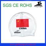 Best silicone national swim cap wholesale