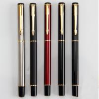 China activity 0.5mm bullet metal gel pen signature pen, gel pen custom logo on sale