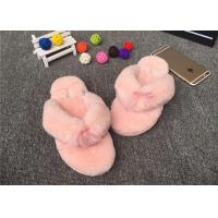 Best Sheep Wool Slippers Various Colors Hot Wholesale 100% Sheepskin Slippers Fur Lined Slippers wholesale