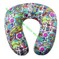 China U Shape Microbead Neck Pillows For Car, Comfort Foam Travel Neck Pillow Cushion on sale