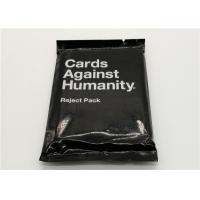 Best Paper Material Cards Against Humanity Reject Pack For Horrible People wholesale