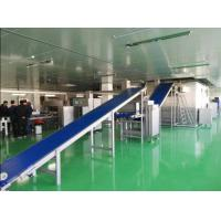 China Industrial Pizza Production Line Controlled by Siemens PLC For Various Diameter Pizza Crust on sale