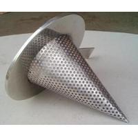 Quality 1/4'' Perforated Holes Conical Or Basket Type strainer Mounting Between Two Flanges wholesale