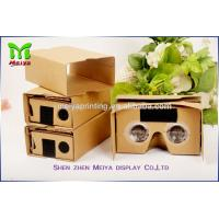 Cheap High - definition Screens Virtual Reality Cardboard Box For TV And Movie for sale
