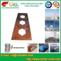 Best Steam Boiler Water Walls Carbon Steel , Boiler Panel Corrosion Resistance wholesale