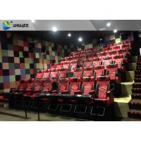 Best 4D 5D Movie Theater with Bubbles / Wind / Snow / Smoke/ Fog Effect wholesale