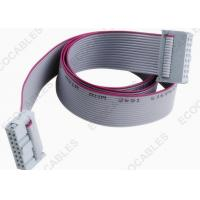Best 28awg Grey Tinned Copper 16P Data Flat Ribbon Cables For Computer wholesale