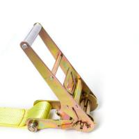 Cheap Heavy duty customized color ratchet lashing tie down straps 100% Polyester for sale