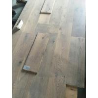 Best Gray Oak Engineered Wood Flooring with smoked and brushed finishing wholesale