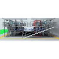 China Shampoo Liquid Detergent Toothpaste Preparation and Production Storage Tanks on sale