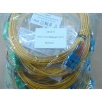 SC / APC Connector Fiber Optic Patch Cable , SM Duplex 3.0mm LSZH Cable