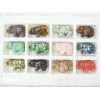 Best Custom Made Pig Gemstone Carving 45 - 50mm, Carved Semi Precious Stone Animals wholesale