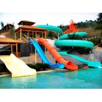 Details Of Child Kids Aqua Play Fiberglass Water Slides Red Blue Swimming Pool Slide