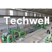 Best 0.3 - 3.0mm / 0.5 - 3.0mm Steel Coil Cut To length Machine Line With Auto Stacker System wholesale