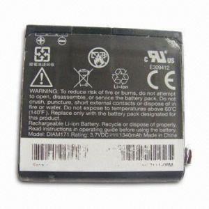 China Li-polymer Battery, Used for HTC Diamond Pro on sale
