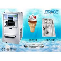Best 3 Flavors Table Top Commercial Ice Cream Machine With Air Pump Feed Feed wholesale
