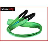 China CE GS Approved Color Code Lifting Sling  Flat Webbing Sling Belt on sale