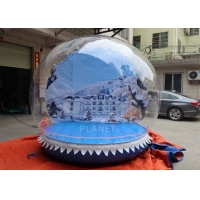 Best Outdoor 3m Inflatable Human Size Snow Globe For Promotion wholesale