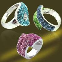 Best 925 Sterling Silver Jewelry Crystal Ring wholesale
