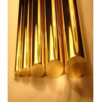 Best Copper Round Solid Bronze Bar , Casting Solid Copper Round Bar Corrosion Resistance wholesale