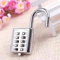 Best Mini push button Code zinc alloy Combination lock 10 pin Sports Locker wholesale