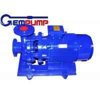 Best Low speed Inline Water Booster Pump ISW Horizontal Pipe ≤ 1.6Mpa Maximum working pressure wholesale