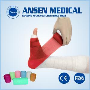 Cheap Disposable Orthopedic Waterproof Polyurethane Leg Cast Medical Korea Material Fiberglass Cast for Dog Pet  Horse for sale