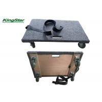 Best Four Wheel Carpeted Moving Dolly , Lighttweight Office Dolly Moving Cart wholesale