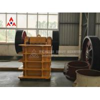 Buy cheap High Efficiency Heavy construction equipment rock Jaw Crusher for Gold Mining Machine from wholesalers