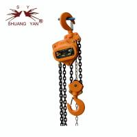 Construction Lifting Tool Compact Manual Chain Block Double-Pawl Double-Guide Function CE GS Certificate