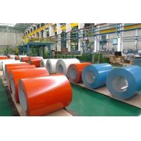 Best Color Coated Roofing Sheets PPGL Coil , Pre Painted Aluminum Coil 60 g/m2 - 180 g/m2 wholesale