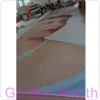 Cheap Canvas / PVC Vinyl Banners Custom Banner Flags With Inkjet Printing for sale