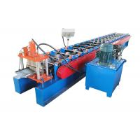 China PPGI Color Coated Sheet Making Machine Valley Design Size 6930*1310*1750mm 	Ridge Cap Roll Forming Machine on sale