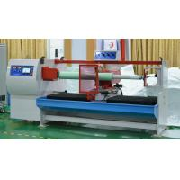 Quality Double Side Fabric Roll BOPP Tape Cutting Machine 380V 50HZ With High Speed wholesale