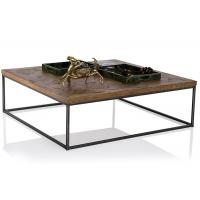 Quality Industrial Style Solid Wood End Tables And Coffee Tables With Iron Frame wholesale