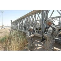 Best Military Use Assembled Long Span Bridge Steel Truss Bridge With Surface Galvanized wholesale