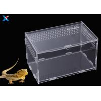 Best Customized Clear Acrylic Furniture , Acrylic Reptile Box OEM / ODM Available wholesale
