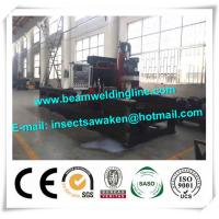 Quality Steel plate drilling machine for box beam production line , steel structure drilling machine wholesale