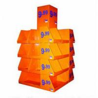 Best Corrugated cardboard retail pallet displays , point of purchase magazine shelf wholesale