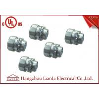 """Cheap Steel 1"""" 2"""" IMC Rigid Electrical Conduit Connector Coupling White Blue Electro Galvanized for sale"""