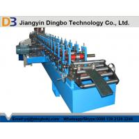 China C Type Steel Roll Forming Machine For Purlin With Full Automatic Cutting on sale