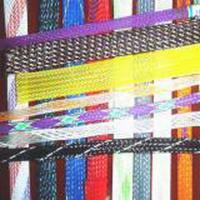 China Black Monofilament PET Expandable Braided Sleeving Wear Resistant on sale