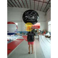 Best Customized PVC Attractive Durable Backpack Balloons with Full digital printing for Parade wholesale