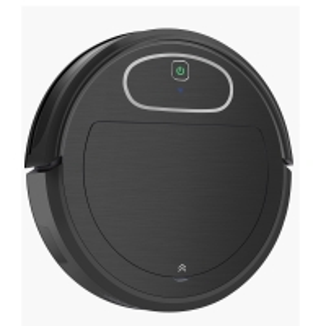 Best Black Color Smart Robot Vacuum Cleaner 50-70 Working Minutes Recharge Battery wholesale