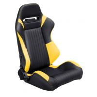 Cheap Adjustable Universal PU Leather Sport Car Racing Seats For Adult for sale